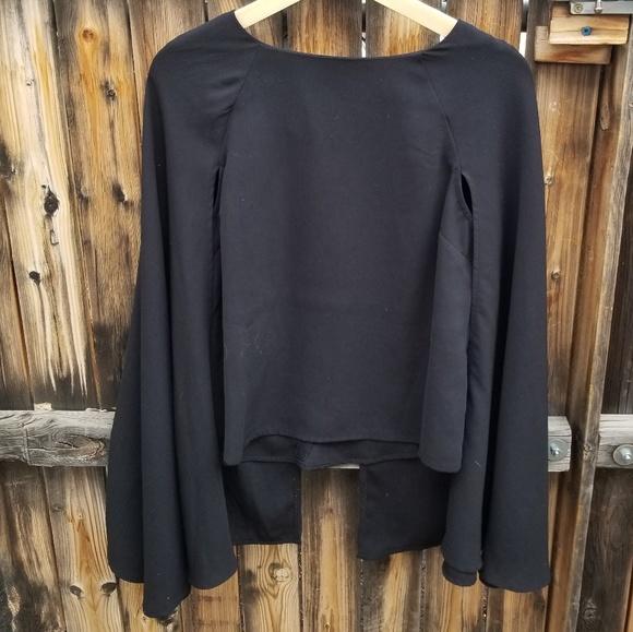 863db84c7afcd Lulu s Tops - Black
